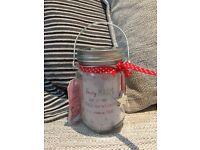 Brand new light up fairy wishes jar