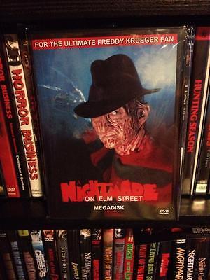 A Nightmare On Elm Street Megadisk DVD Compilation Freddy Krueger slasher