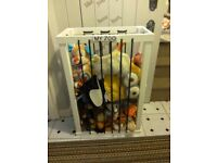 Handmade wooden storage boxes for childrens soft toys