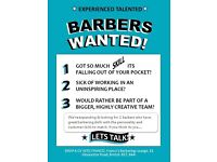 RARE OPPORTUNITY - 2 NEW BARBERS WANTED - AT ONE OF BRISTOL'S BEST BARBERS!