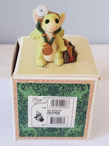 """1999 Whimsical World of Pocket Dragons  """" Dr. Dragon """" Mint In Box"""
