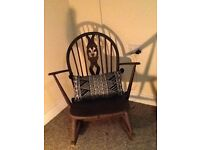 Vintage Ercol rocking chair