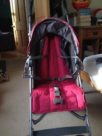 Mamma and Pappas stroller