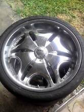 20 inch Chrome Rims and Tyres x4 245/35r20 Toyota Ford 5 stud Edmonton Cairns City Preview