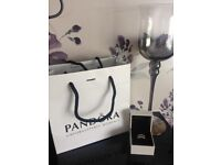 PANDORA Hearts tiara CZ and sterling silver ring gift box and bag STAMPED ALE