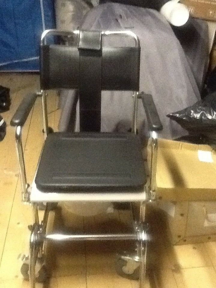 Portable Commode / shower Chair ( NEVER BEEN USED ) | in Nuthall ...