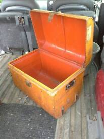 Two great cond.steamer trunks 1930s