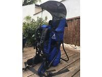 Baby carrier back pack for child up to 3 yrs perfect for trekking/ holiday