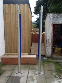 Stainless steel posts