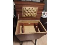 Vintage sewing table/box.