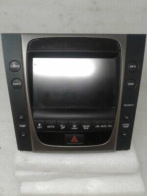 2006 Lexus GS300 Radio Climate AC Heat Display Touchscreen Dual Zone Auto OEM ()