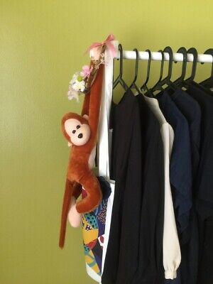 Hanging MONKEY ORANGUTAN soft plush toy