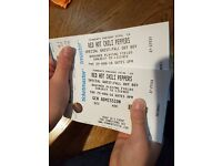 2 tickets to Red Hot Chili Peppers at Tennents Vital on Thursday 25th August