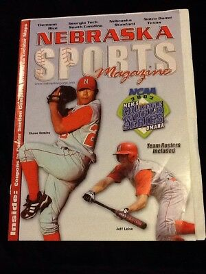 2002 Nebraska Sports Magazine CWS COLLEGE WORLD SERIES HUSKER BASEBALL