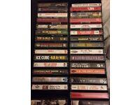 Music Cassette tapes (Hip Hop & Rap albums)