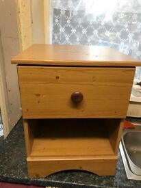 one bedside table for sale