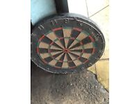 Old dart board