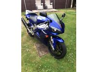 yamaha r1 very low miles 13k lovely condition throughout runs rides as it should