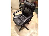 Leather Office or Study Chair.