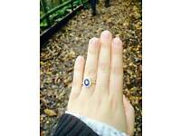 Lost engagement ring in senacre wood Maidstone