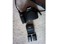 Canon EOS 6d with 2 batteries