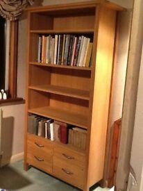 Laura Ashley Milton Oak Bookcase