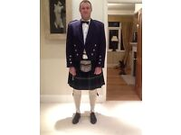 Full Scottish Highland Dress Kilt