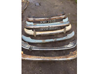 MORRIS MINOR FRONT BUMPERS CHOICE OF 7 ALL £45 EACH