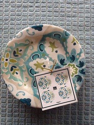 222Fifth Hagan Set Of 4New Appetizer/Dessert/Bread Plates