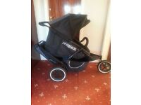 Phil and Teds double pushchair and accesories- discounted to £80