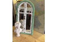 Distressed Shabby-chic mirror