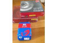 BMW brake pads & discs 5 6 7 series new boxed