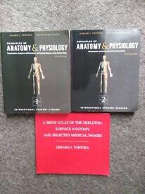 Tortora Anatomy books