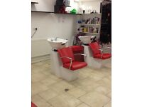 City Centre Hair Salon Chair to rent