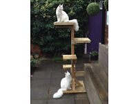 Wanted - Outdoors Cat Climber/Post - 5ft to 6ft Tall with Platforms - Must Be Weather Resistant