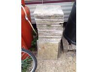 26 Patio Paving Garden Slabs 450mm x 450mm + a few extra