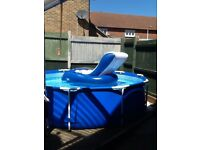Intex 10ft swimming pool with extras