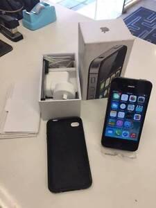 IPHONE 4S 8GB BLACK IN BOX Cessnock Cessnock Area Preview