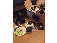 Canon 500d with 18-55 Kit Lens - Good Condition, Box and accessories