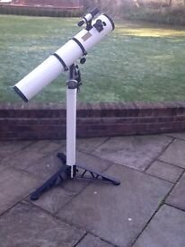 4.5inch reflecting telescope