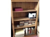 Solid oak bookcases for sale