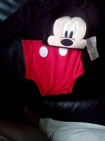 Mickey mouse suit