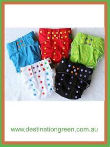 New PREMIUM DOUBLE GUSSET MCNs inc 5 nappies+10 inserts Beacon Hill Manly Area Preview