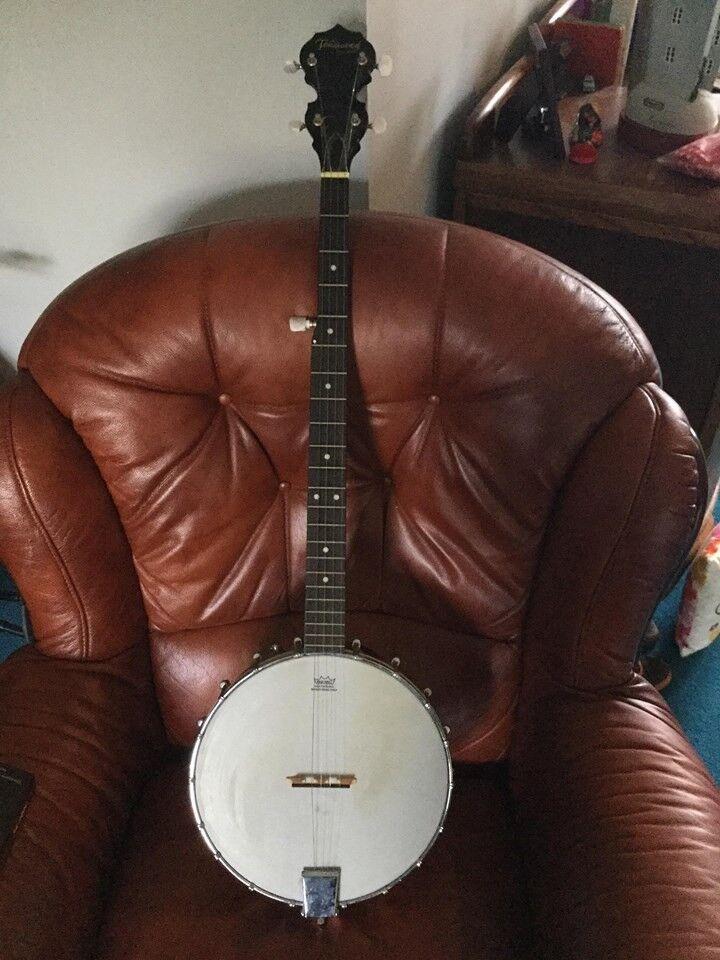 Tonewood 5 string open back banjo - Smashing condition   in Kilwinning,  North Ayrshire   Gumtree