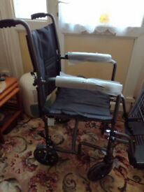 new wheelchair bought but never used