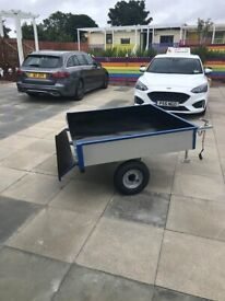 4ft x 4ft IBC trailer