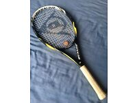 Dunlop Tennis Racket Fusion 100, Yellow / Black