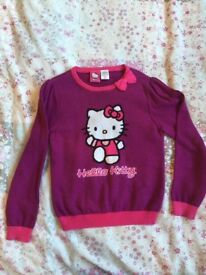 Hello Kitty girls jumpers