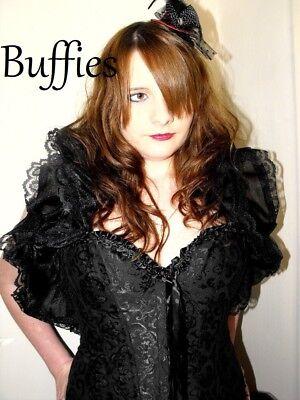 Dancer Tie on Shrug Cosplay performer Goth Burlesque - Burlesque Style Dance Kostüme