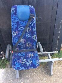 SINGLE SEAT FOR MINIBUS OR VAN